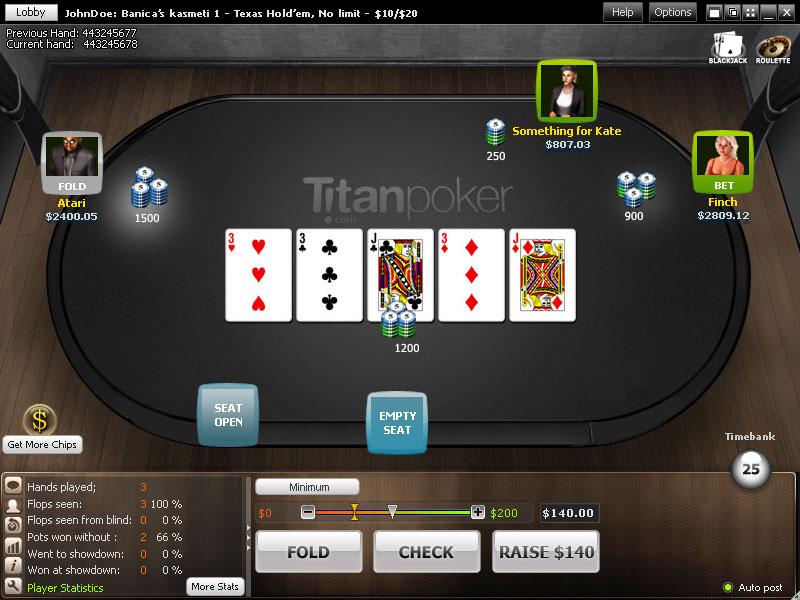 Игра покер бесплатно