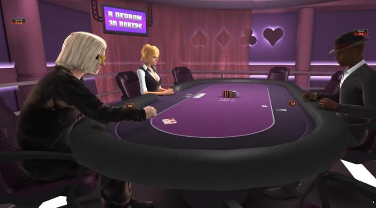 Игра 3D покер