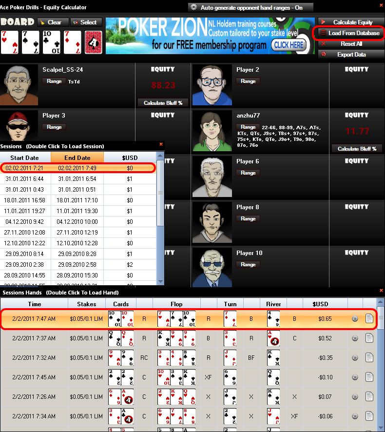 Ace Poker Drills симулятор бесплатно