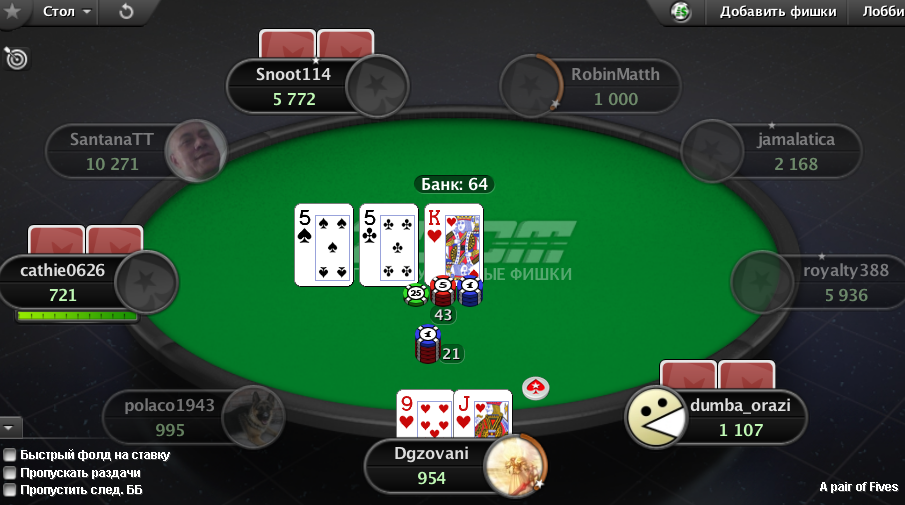 Бет в покере - правила игры