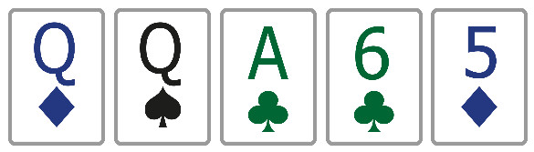 Покер комбинация пара