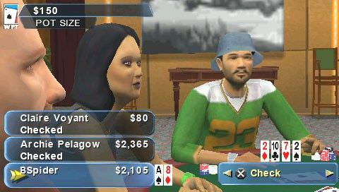 Покер на ПСП