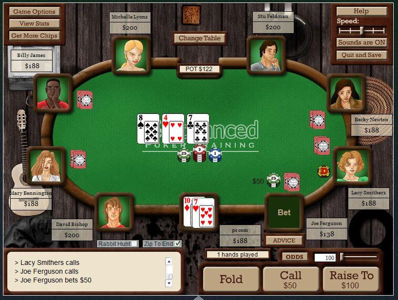 Симулятор покера скачать - Poker Training