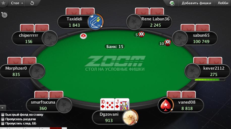 Правила покера карты
