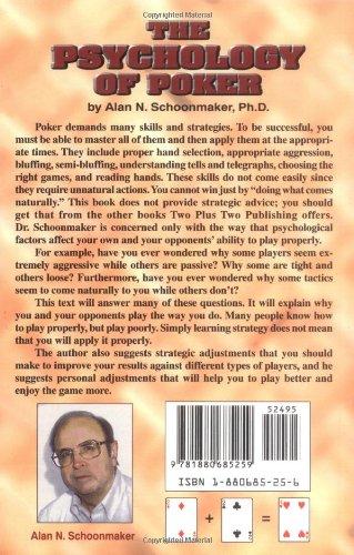 Книга психология покера