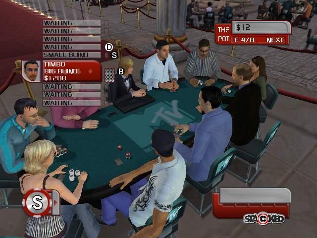 Stacked тренажер для покера