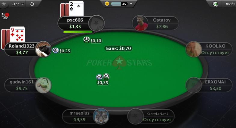 Как играть в покер Стад