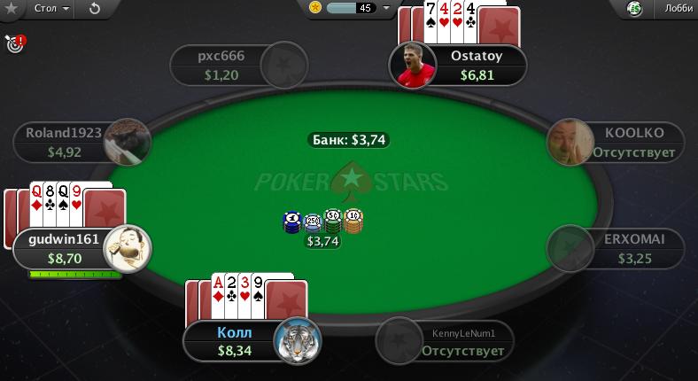Стад покер правила игры