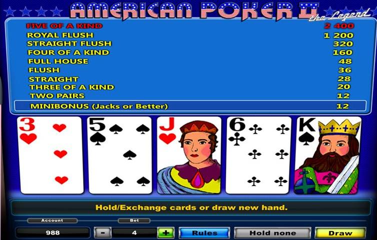 скачать американский покер