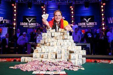 Самый большой выигрыш в покер