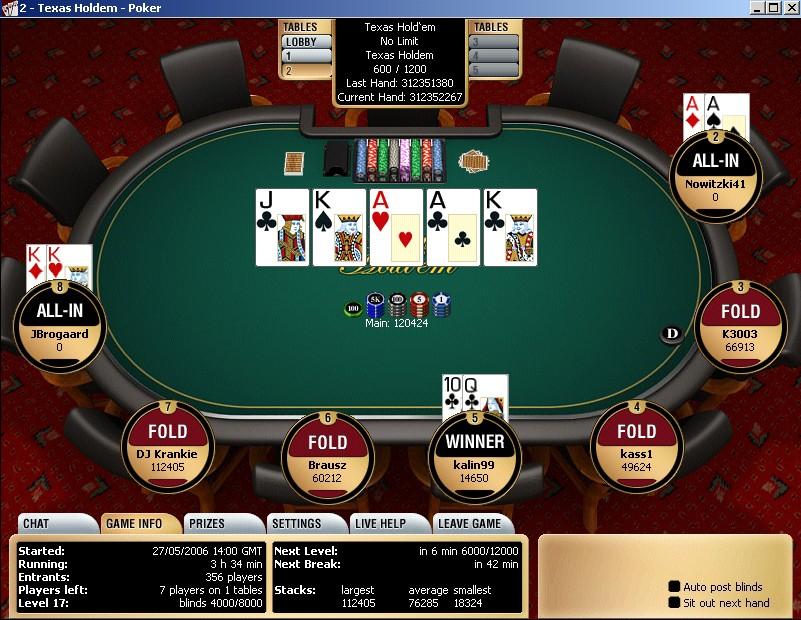 Два Каре в покере