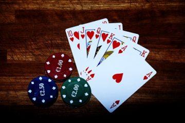 Роял флеш в покере лого