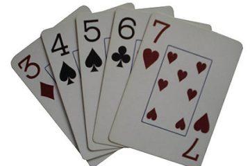 Стрейт в покере